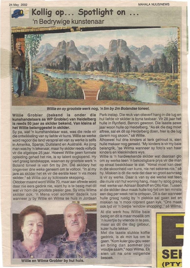MAHALA NEWS on 24 May 2002